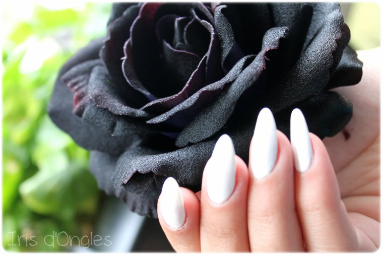 Test: vernis blanc pur de chez Miss Europe