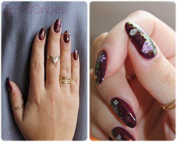 """Nail Art """"Reflets d'Orient"""" (l) (l)"""