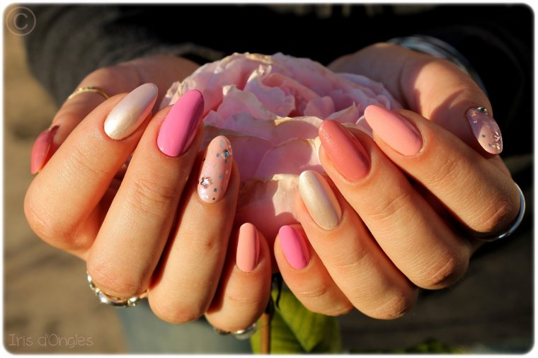 Manucure Spéciale: Octobre ROSE !