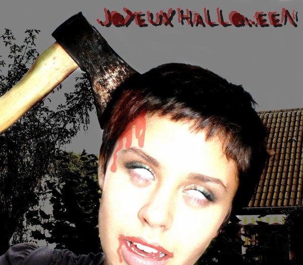 JOYEUX NAIL-HALLOWEEN!  ;)
