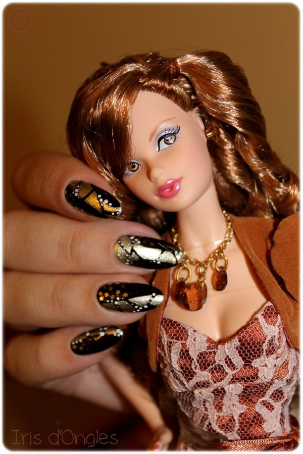 "Nail art ""Copitage de Mimie & Co' """