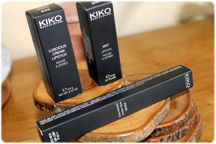 Ma toute première visite chez KIKO !