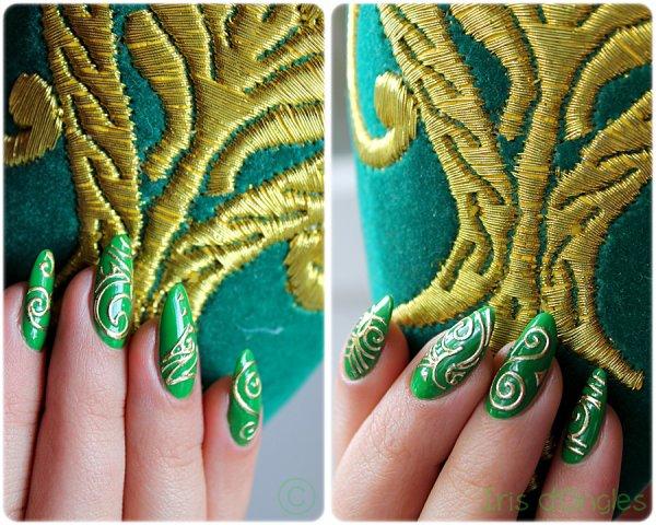 "Nail Art ""Le Noël de Link"" !"
