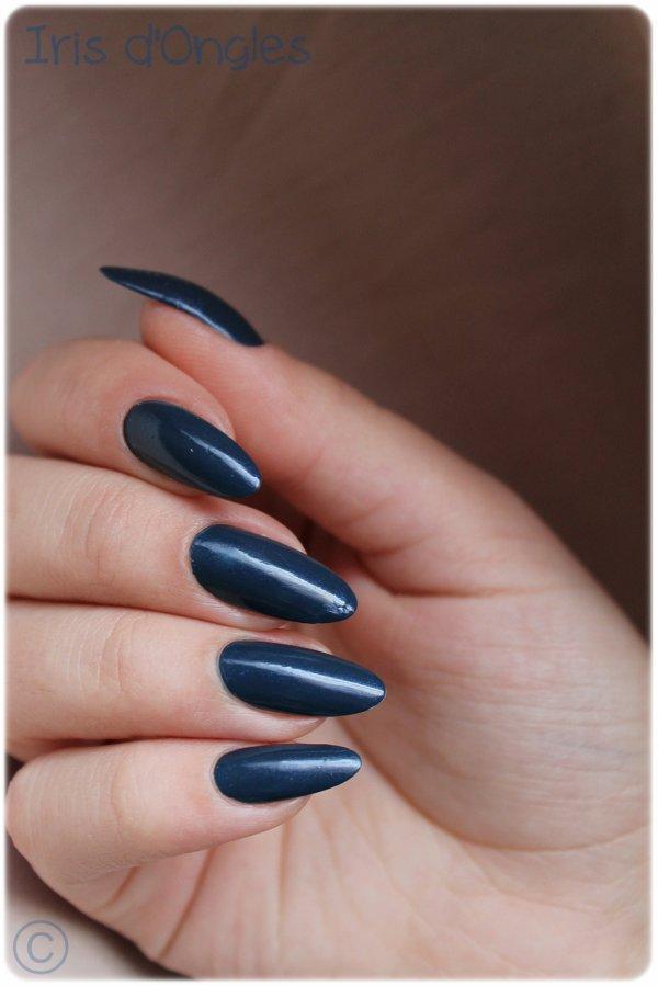 """Test: vernis """"Why So Blue"""" de chez H&M (l)"""