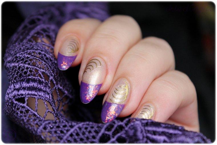 """Nail Art """"Sapin 2012"""" !"""
