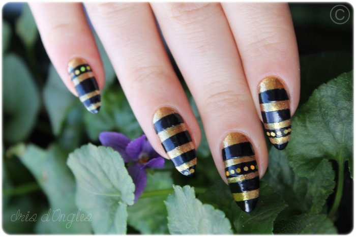 """Nail Art """"Les Ongles de Néfertiti"""" (l)"""