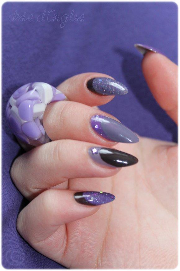 """Nail Art: """"Comme un petit Poney""""..."""