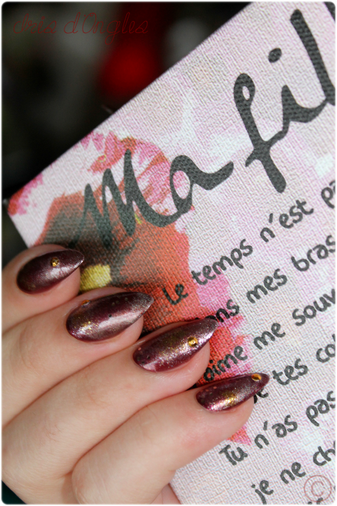 "Nail Art ""Galaxie d'Orient"" !"