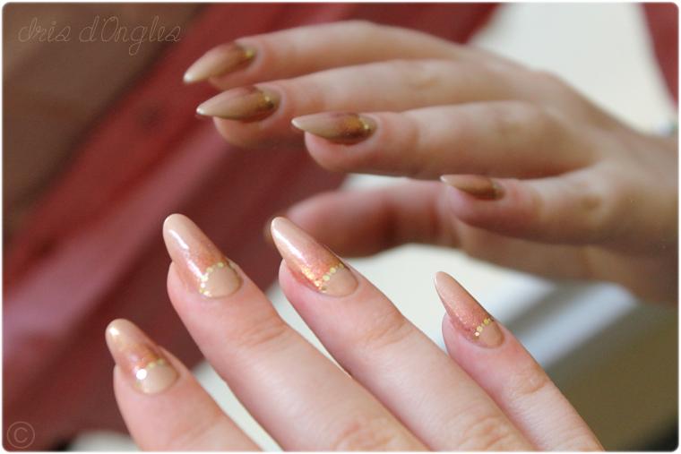 """Nail Art """"À la manière d'une Princesse"""" (l)"""