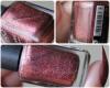 Test: vernis N°645 Burgundy de chez KIKO (sugar mat) (l) !