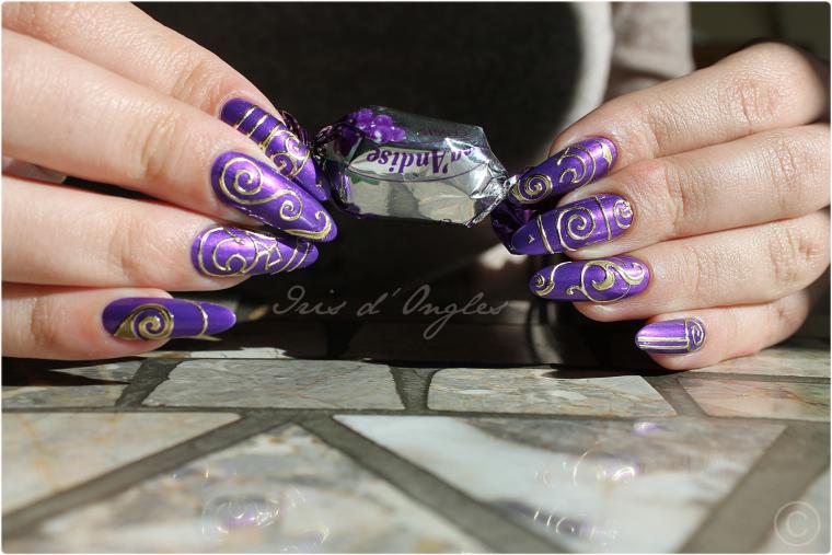 "Nail Art ""Le Printemps de Link"" !"