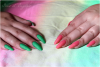 Double test: vernis N°643 Spring Green et N°641 Strawberry Pink de chez KIKO (Sugar Mat) !