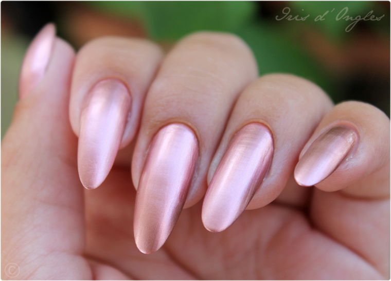 "Test: vernis N°629 ""Copper"" de chez KIKO (Mirror) ! (l) (l) (l)"