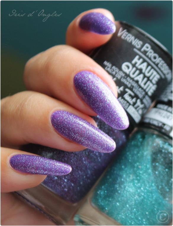 Test: vernis N°87 Violet Glitter de chez Miss Europe! (l) (l) (l)