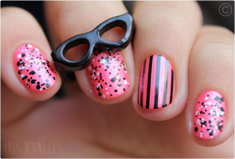 Nail Art tout Nouveau, tout Beau ! (+ test: vernis N°916 Confettis de chez L'Oréal) (l) (l)