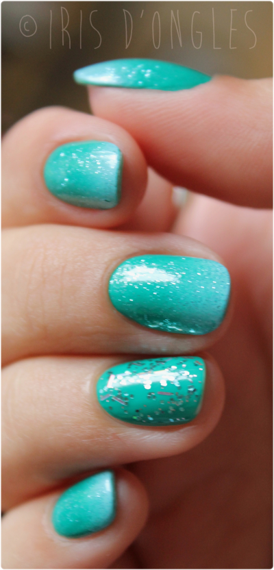 "Nail Art ""Aquatique"" (l) (l) (l) !"