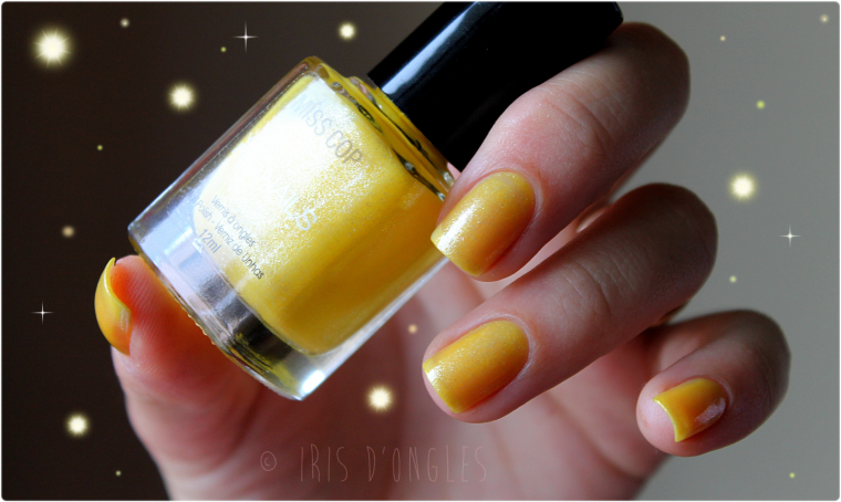 Test: vernis N°03 de chez Miss Cop (Collection Les Pearl & Pop) !