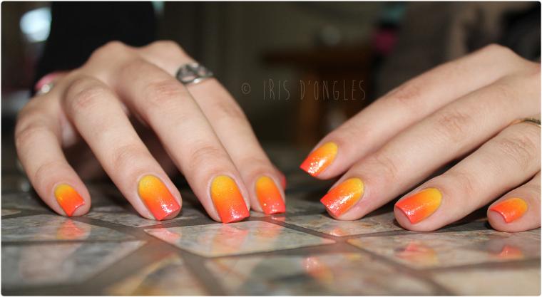 "Nail Art ""Sunset"" (l) (l) (l)"