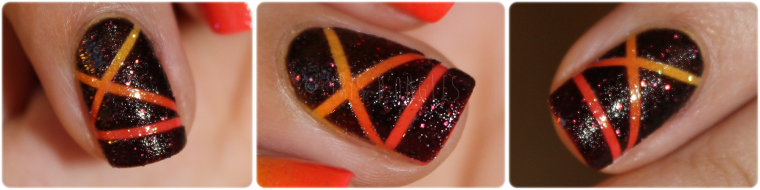 "Nail Art ""Sunset"" (l) (l) (l)"