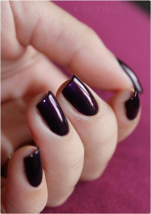 Célèbre Vernis à ongles violet foncé - cosmake-up SL59