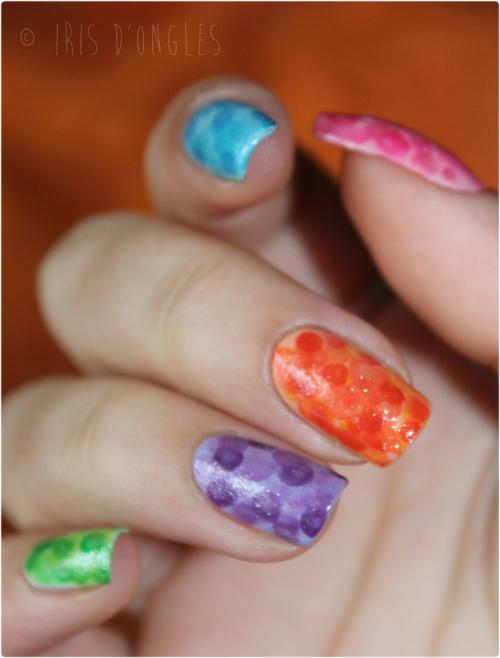 "Nail Art ""Nimbus"" Nailasaurussien... et loupé! :)"