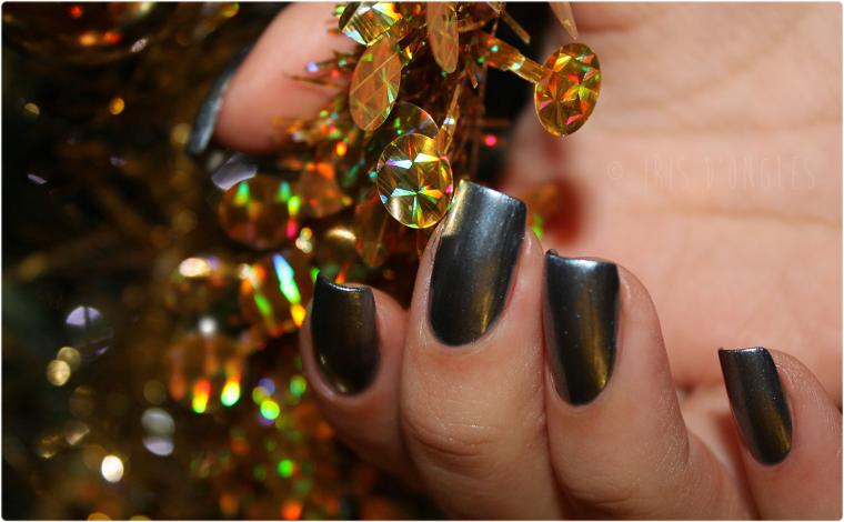 Test: vernis N°817 Saphir Treasure de chez L'Oréal Paris ! (l) (l)