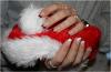 Nail art de Noël 2013 !