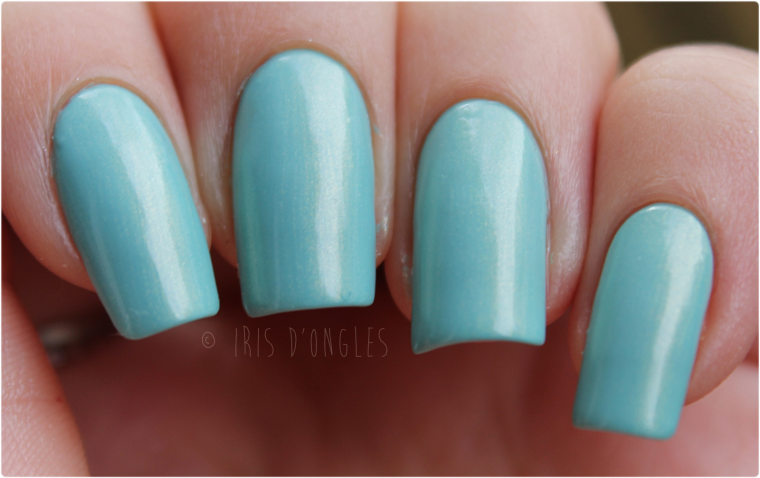 Test: vernis N°834 Golden Tiffany de chez KIKO (Quick Dry) (l) (l) (l)