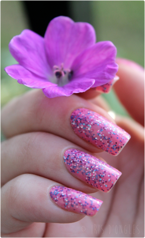 Test: vernis Topping Lane de chez Nails Inc (Sprinkles) !