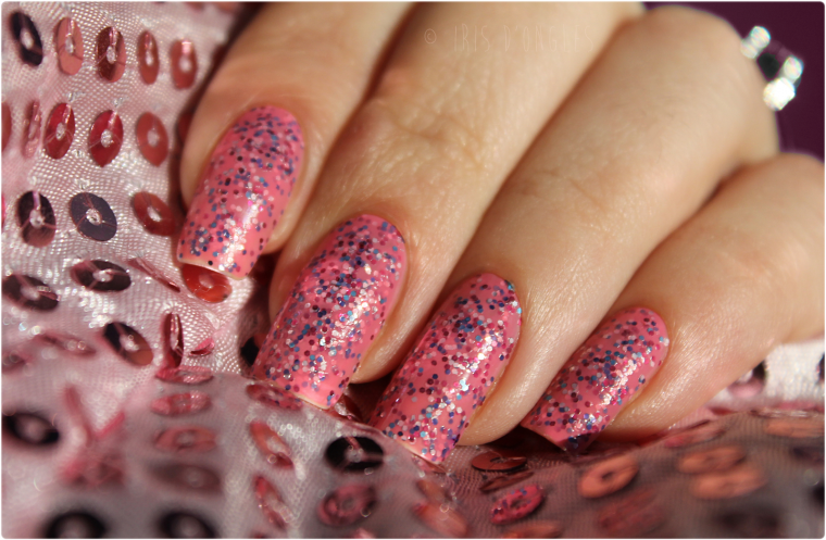 Test: vernis Topping Lane de chez Nails Inc (Sprinkles) !