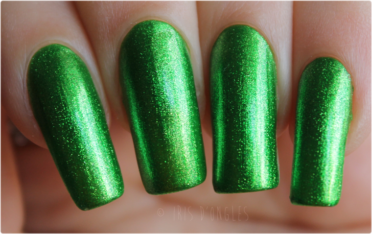 Test: vernis N°163 Metallic Green de chez KleanColor !