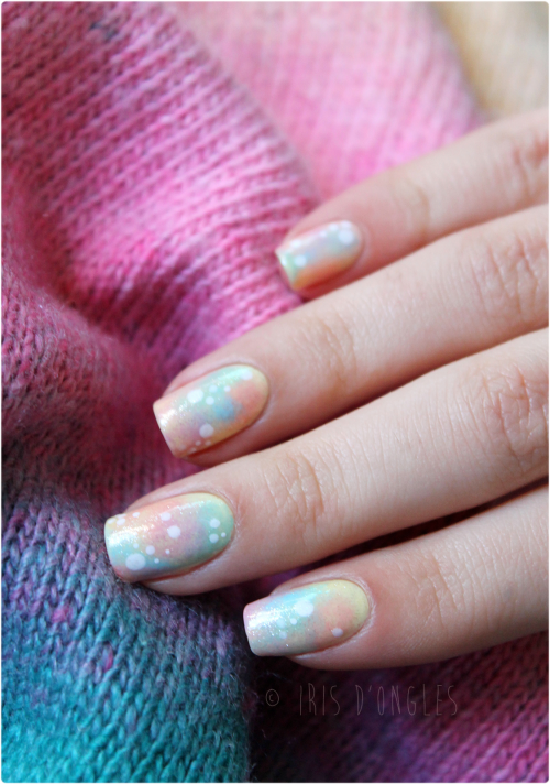 "Nail Art ""Milky Way"" ! (l) (l) (l)  $)"