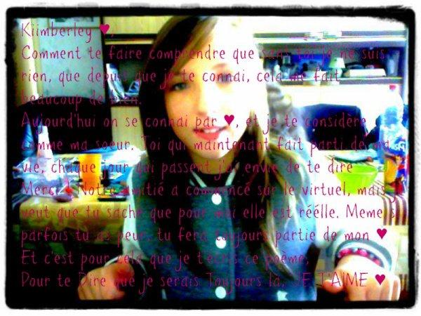 MonAmooouuur De toujours ♥ je t'aime poupey ♥