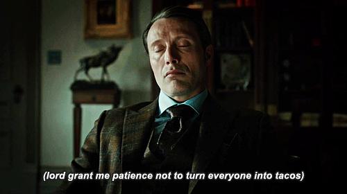 Quand je demande à Craig de me trouver des Gifs d'Hannibal...