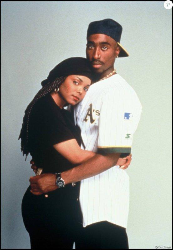 Tupac Shakur et Janet Jackson pour le film Poetic Justice
