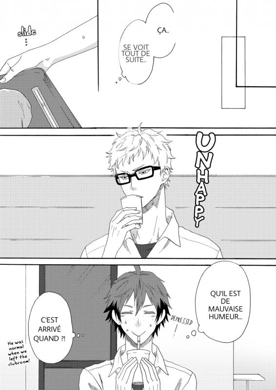 Haikyuu! TsukishimaxYamaguchi (1)