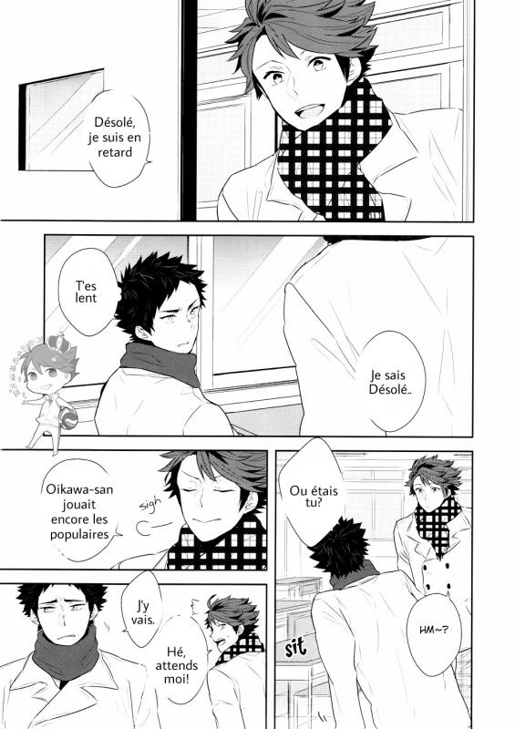 Haikyuu! OikawaxIwaizumi (1)