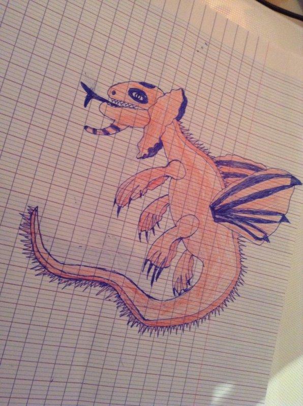 Mon dessins (je le trouve trop mal fait mais bon)