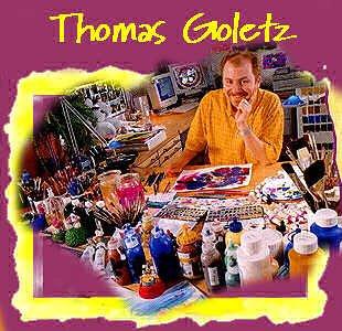 Le créateur de Galupy et ses amis (Thomas Goletz)