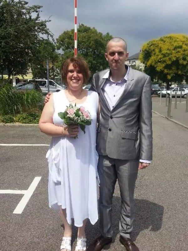 notre mariage à ma femme et moi