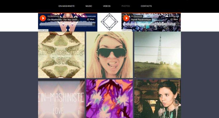 NEW Ein-Mashiniste music site