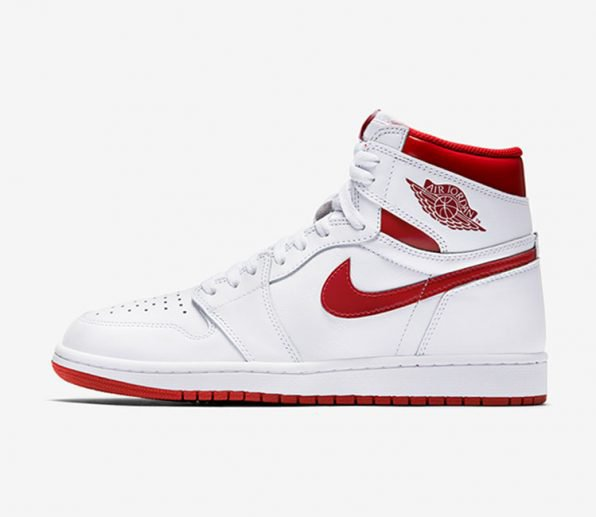 Air Jordan 1 Retro High OG Metallic Red