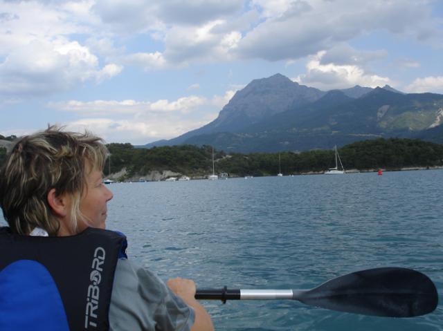 Notre pratique pépère du kayak dans les Hautes-Alpes