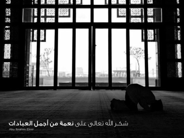 LiillàH Fi 7àYàtii  شكـر الله تعالى على نعمة من أجمل العبادات