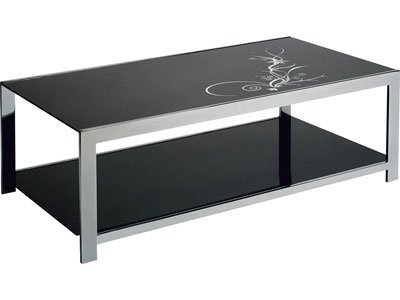 Table basse glamour prix de vente 120 euros j vends - Table salon verre conforama ...