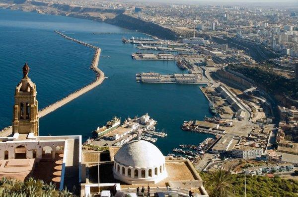 Santa Cruze vile de Oran en algérie