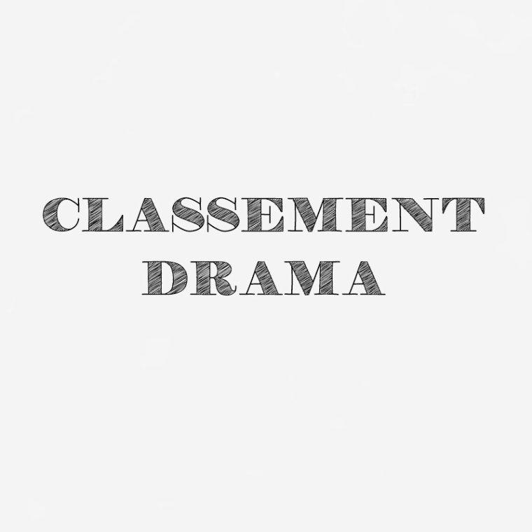 Classement des dramas