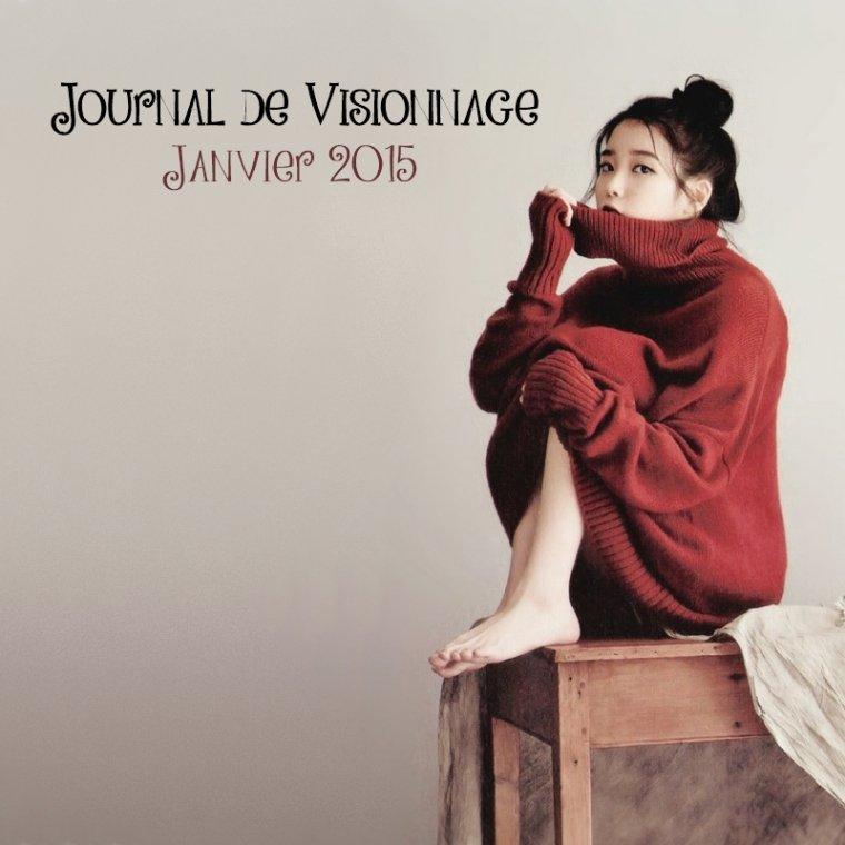Journal de Visionnage - Janvier 2015