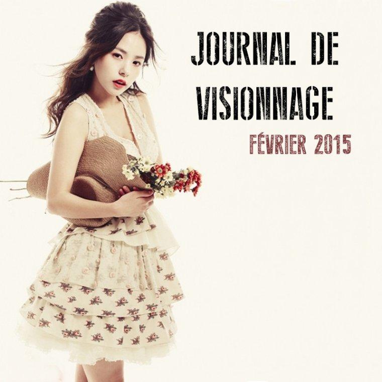 Journal de Visionnage - Février 2015