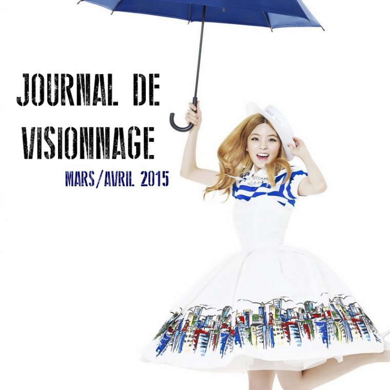 Journal de Visionnage - Mars/Avril 2015